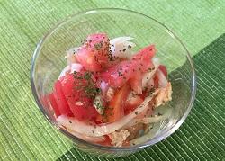 HP トマトツナサラダ